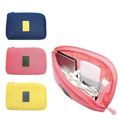 Pouch Storage USB Cable Electronic Accessories Bag Organizer Travel Case kim