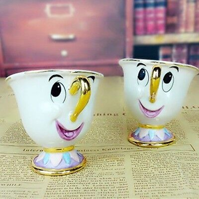Disney Chip From Beauty   The Beast Ceramic Mug Cup Tea Disneyland