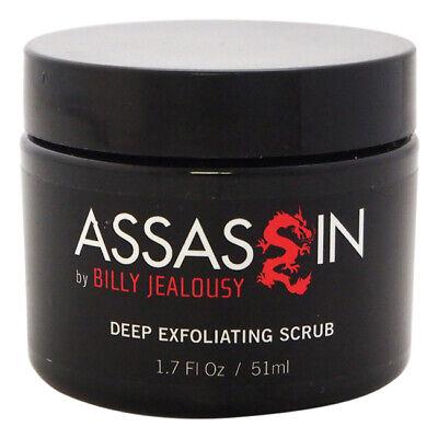 Assassin Deep Exfoliating Scrub by Billy Jealousy for Men - 1.7 oz Facial Scrub