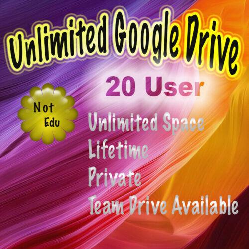 👉20 Gsuite Google Drive Unlimited 🔥 Private 🔥Request Username 🔥Not .Edu  🔥