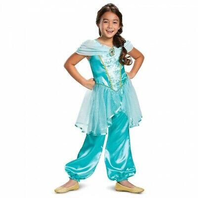 Disguise Disney Prinzessin Jasmin Aladdin Kinder Halloween Kostüm 66624