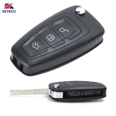 Remote Key Fob for Ford C-Max, Focus, Grand C-Max, Mondeo 2010-2014, 5WK49986
