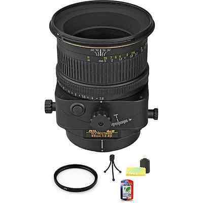 Nikon PC-E Micro-Nikkor 85-85mm F/2.8 D Lens + UV & Cleaning Kit (Nikon 85 Mm D)