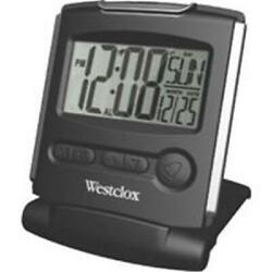 Westclox Travelmate.5''Lcd Alarm Clock 72028
