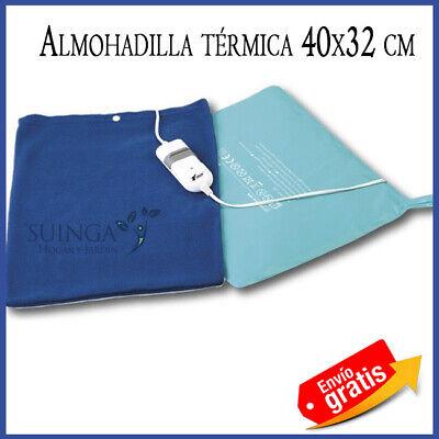 ALMOHADA ELECTRICA ALMOHADILLA TERMICA ELECTRICA 40X32CM MANTA DE CALOR LAVABLE