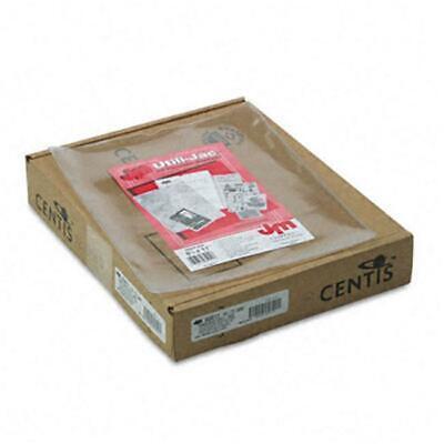 Esselte Pendaflex 65011 Utili-jacs Heavy-duty Clear Vinyl Envelopes Letter 50...