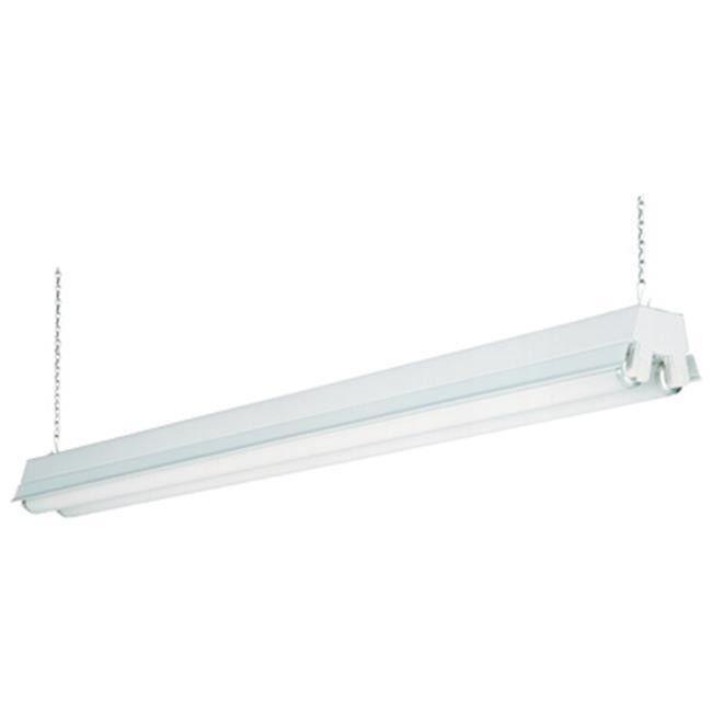 1233 RE 4 ft. White 2 Light T8 Fluorescent Residential Shop Light ...