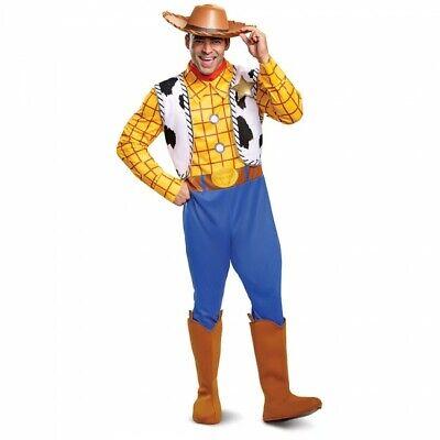 Disguise Disney Toy Story Sheriff Woody Deluxe Erwachsene Halloween Kostüm - Sheriff Woody Kostüm
