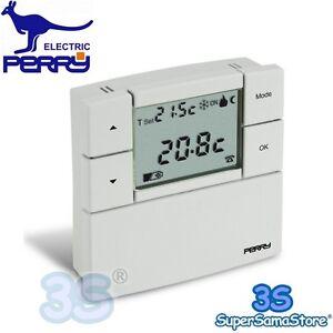 Il meglio di potere termostato ambiente digitale perry for Termostato perry manuale