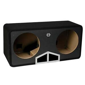 NEW-Bassworx HPR210G Dual 10-inch Ported Subwoofer Enclosure