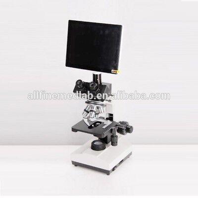 Xsz-107bn-s Binocular Microscope With Camera - Biological Chemical Laboratory