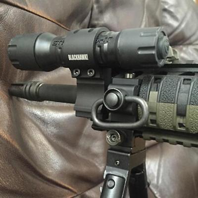 QD Sling Swivel Attachment w/ 20mm Picatinny Rail Mount, Quick Release KV