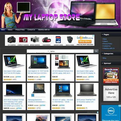 Laptop Notebook Store - Established Online Affiliate Business Website For Sale