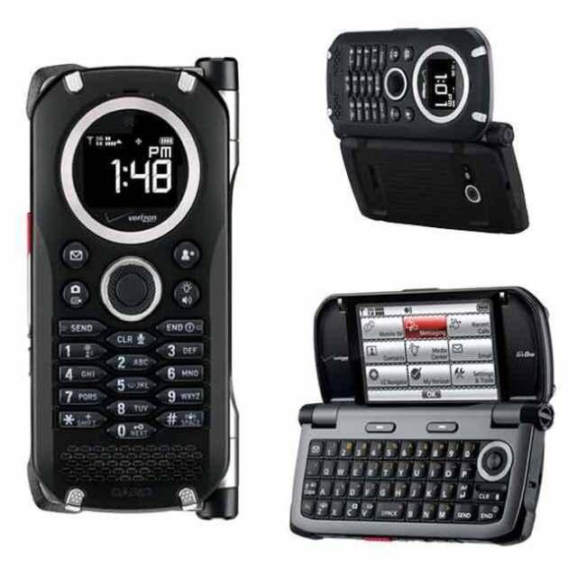 Casio G'zOne Brigade C741 - Black (Verizon) Cellular Phone
