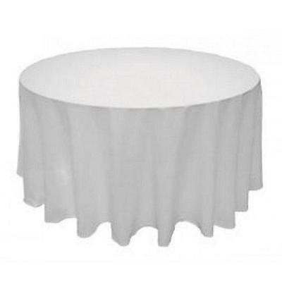 Round Seamless Tablecloth For Wedding Restaurant Banquet Party Decorations - Tablecloth For Party