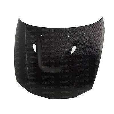 1 Carbon Fiber Hood - 1 Series 2DR/HB  08-12 Bmw BM Seibon Carbon Fiber Hood HD0809BMWE822D-BM