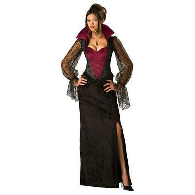 Vampire Womens Costume (WOMENS MIDNIGHT VAMPIRE COSTUME SIZE)
