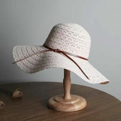 Damen Sonnenhut Sommer Hüte Strand Strohhut Frauen Schlapphut Sonnenschutz Mode - Frauen Hut -