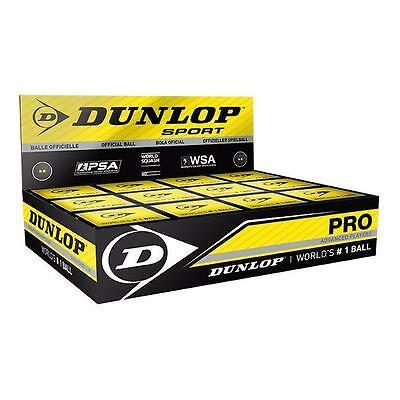Dunlop Pro Squash Ball 1 Doz Box