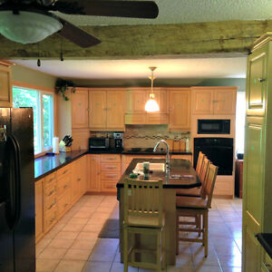 respray your kitchen and bathroom cabinets HAHR