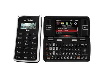 LG enV VX9100 - Black (Verizon) Cellular Phone Page Plus Straight Talk