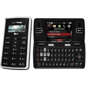 Lg env vx9100 black verizon cellular phone 652810813815 ebay