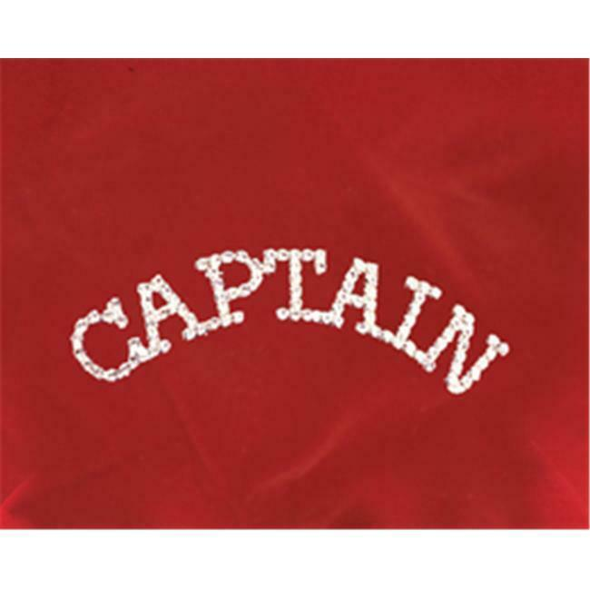 Sunnywood 3267 Silver Rhinestone Pin - Captain