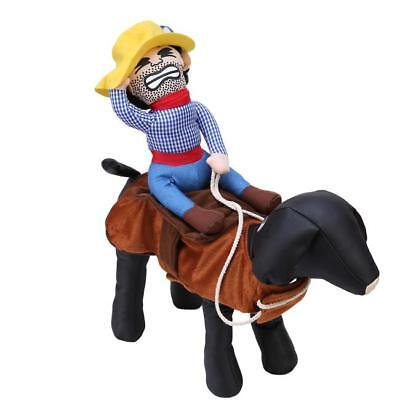 Hund Haustier Katze Cowboy Reiter Kleidung Warme Kleidung Cosplay Party Kostüm