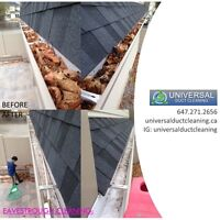 Eavestrough Cleaning | 647.271.2656