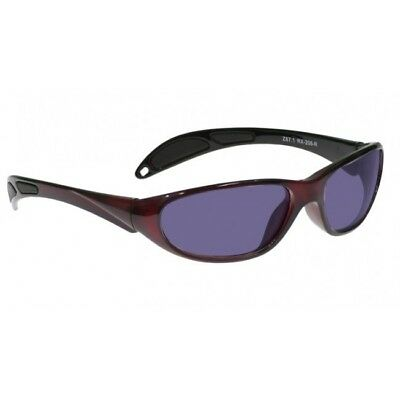 Polycarbonate Sodium Flare GlassWorking Spectacles in Red Maxx Wrap Safety Frame for sale  Shipping to India