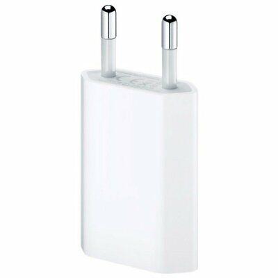 Cargador original Apple,adaptador de corriente Apple USB 5W iPhone/iPad Mini.