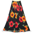Rayon Flower Skirts for Women