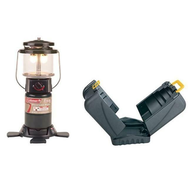 Coleman 765268 Deluxe Propane Lantern w-Hard Carry Case