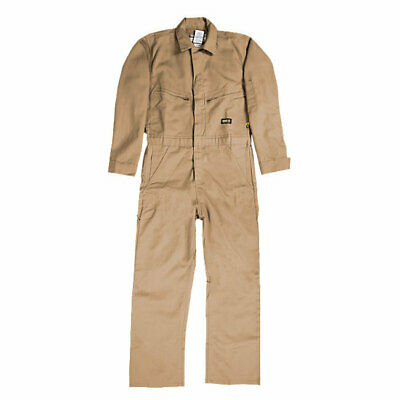 Berne FR Flame Resistant Deluxe Unlined Coverall Size Medium Short Length HRC2 Flame Resistant Coverall Deluxe