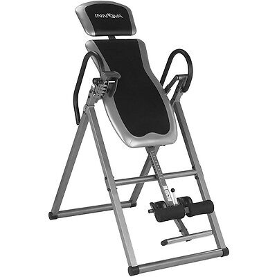 Inversion Therapy Table Exercise Equipment Machine Fitness Foldable Back Pain ()