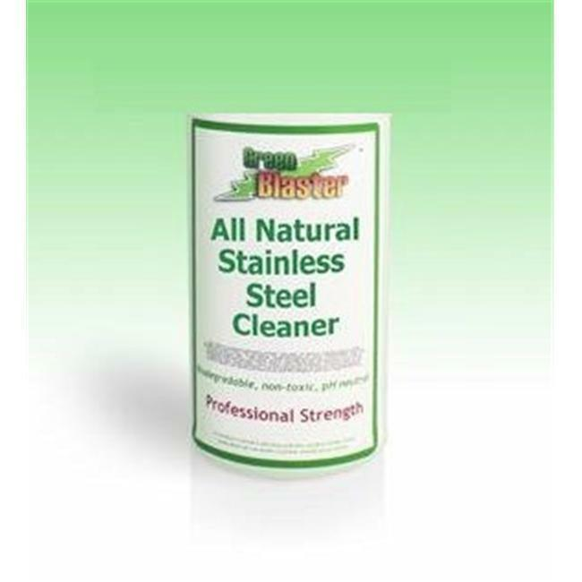 Green Blaster Products GBSS1G All Natural Stainless Steel Cleaner 1 Gallon Re...