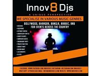Innov8 Djs - Asian Bollywood Bhangra Bangla Indian Arabic Wedding Mehndi Leeds Male Female DJ