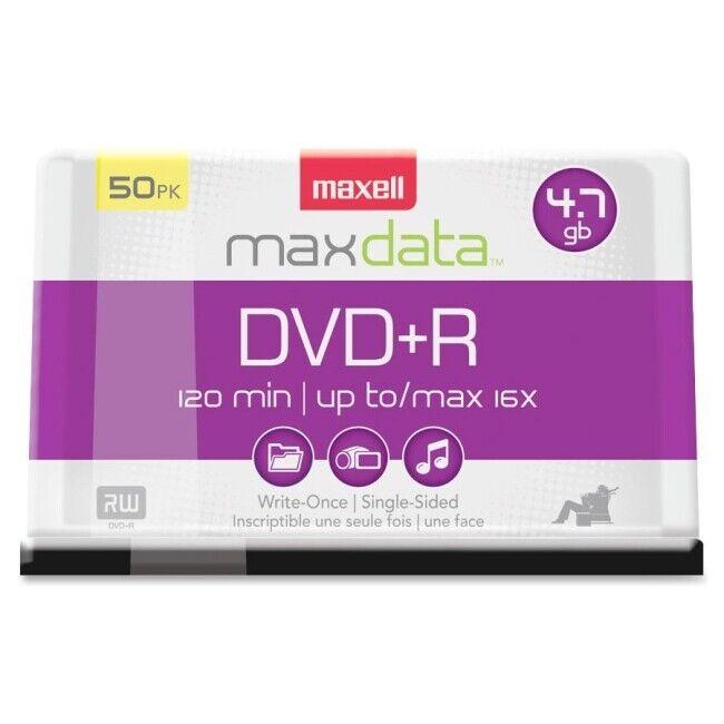 MAXELL 639013  DVD+R 16X 50PK