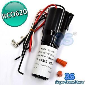 3S Serie Relays RCO620 KIT 3 in 1 componenti elettriche universale compressore - Lecco, Italia - L'oggetto può essere restituito - Lecco, Italia