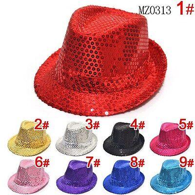 Boys & Girls Canvas Fedora Sequin Hat - Free Shipping ](Toddler Girl Fedora Hats)