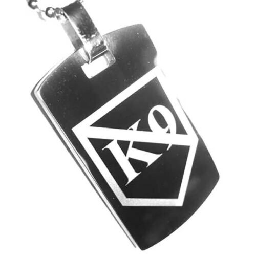 Canine Unit K9 Police Sheriff K9 Units Tungsten Key Ring or Pendant
