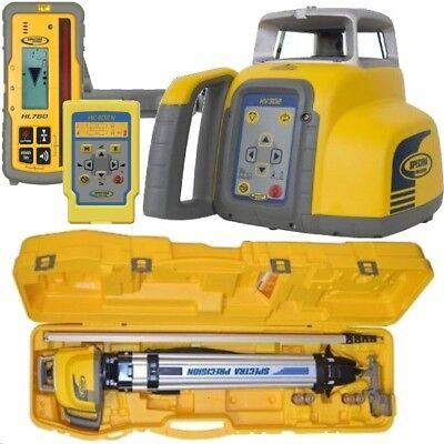 Spectra Hv302gc-2 Horizontalvertical Laser Level Complete Kit
