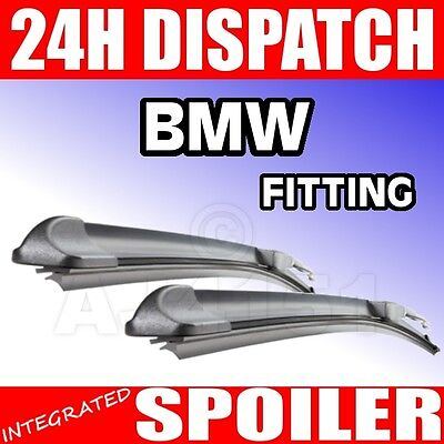 BMW 3 Series E46 ALL MODELS 98  aero flat wiper blades