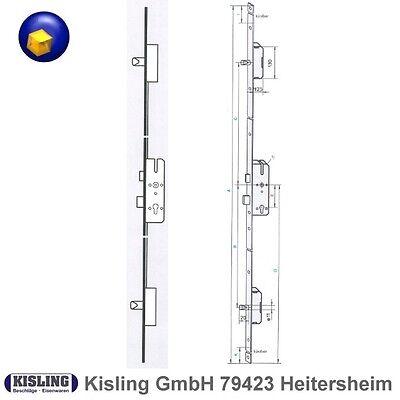 KFV AS 2300 Mehrfachverriegelung Haustürschloss 65 Dorn, 92PZ Flachstulpe 20 mm