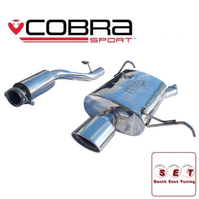 """Cobra Sport BMW Z3 1.9 M44 Cat Back Exhaust 2.25"""""""