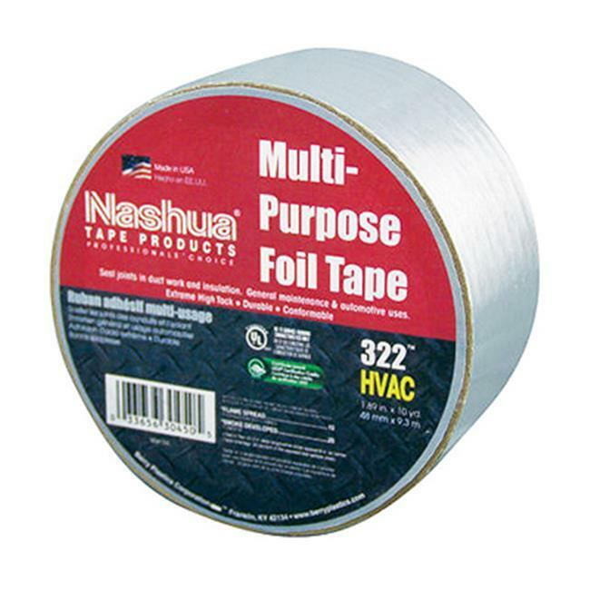 Berry Plastics 1087626 HVAC Multi-Purpose Foil Tape 2 in. x 10 Yd