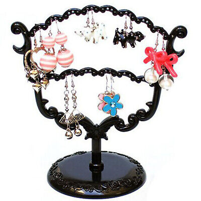 (Display Jewelry Tree Stand Holder Rack Earring Stud Necklace Ring Orangizer New)