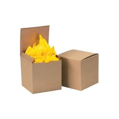 Thorntons Gift Boxes 4 X 4 X 2 Kraft 100