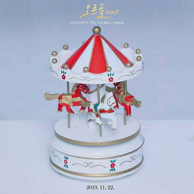 Super Junior Sungmin - [Orgel] 1st Solo Album CD+Booklet+PhotoCard+Gift+Tracking