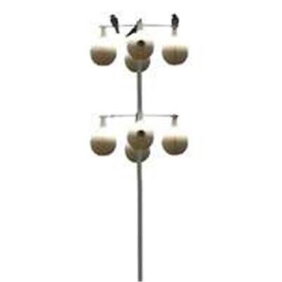 Heath Mfg MP-15G Martin Gourd Pole Purple Galvanized -